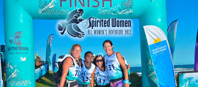 spirited women adventura race